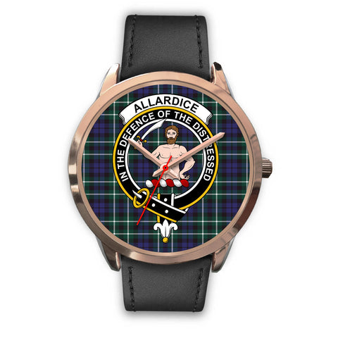 Allardice, Black Metal Mesh Watch,  leather steel watch, tartan watch, tartan watches, clan watch, scotland watch, merry christmas, cyber Monday, halloween, black Friday