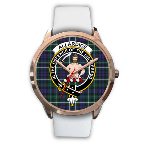 Allardice, Black Metal Link Watch,  leather steel watch, tartan watch, tartan watches, clan watch, scotland watch, merry christmas, cyber Monday, halloween, black Friday