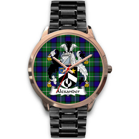 Alexander, Rose Gold Metal Mesh Watch,  leather steel watch, tartan watch, tartan watches, clan watch, scotland watch, merry christmas, cyber Monday, halloween, black Friday