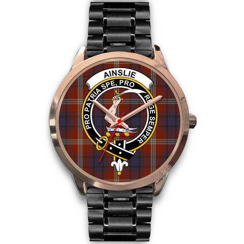 Ainslie, Rose Gold Metal Mesh Watch,  leather steel watch, tartan watch, tartan watches, clan watch, scotland watch, merry christmas, cyber Monday, halloween, black Friday