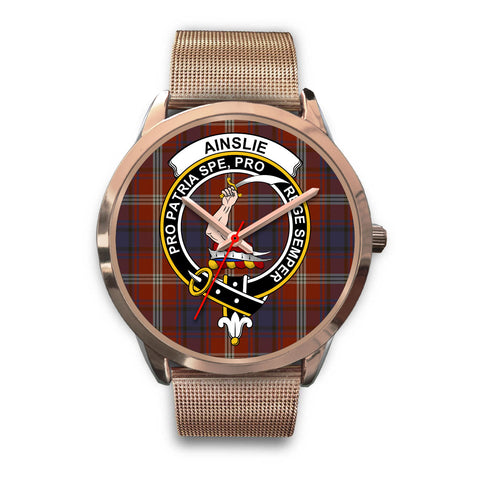 Ainslie, Black Leather Watch,  leather steel watch, tartan watch, tartan watches, clan watch, scotland watch, merry christmas, cyber Monday, halloween, black Friday