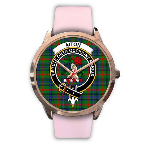 Aiton, Silver Metal Mesh Watch,  leather steel watch, tartan watch, tartan watches, clan watch, scotland watch, merry christmas, cyber Monday, halloween, black Friday