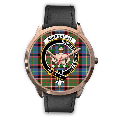 Aikenhead, Black Metal Mesh Watch,  leather steel watch, tartan watch, tartan watches, clan watch, scotland watch, merry christmas, cyber Monday, halloween, black Friday