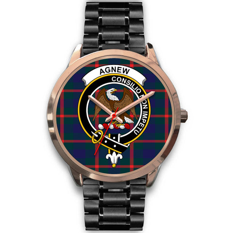 Agnew Modern, Rose Gold Metal Mesh Watch,  leather steel watch, tartan watch, tartan watches, clan watch, scotland watch, merry christmas, cyber Monday, halloween, black Friday