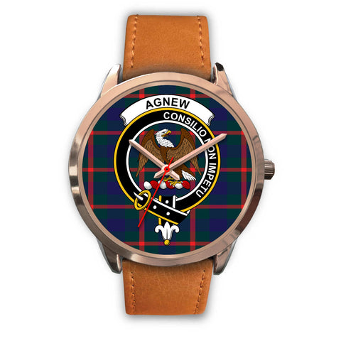 Agnew Modern, Pink Leather Watch,  leather steel watch, tartan watch, tartan watches, clan watch, scotland watch, merry christmas, cyber Monday, halloween, black Friday