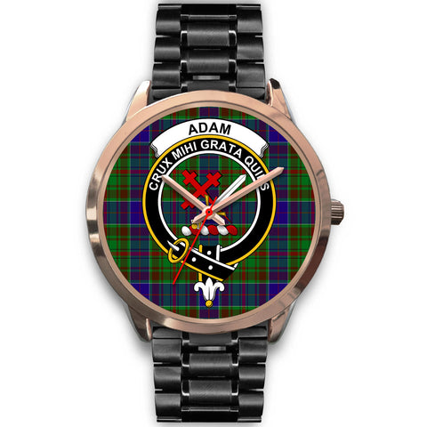 Adam, Rose Gold Metal Mesh Watch,  leather steel watch, tartan watch, tartan watches, clan watch, scotland watch, merry christmas, cyber Monday, halloween, black Friday