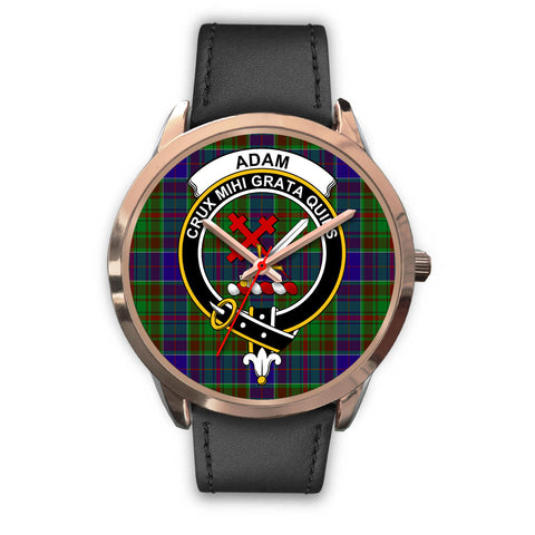 Adam, Black Metal Mesh Watch,  leather steel watch, tartan watch, tartan watches, clan watch, scotland watch, merry christmas, cyber Monday, halloween, black Friday