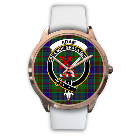 Adam, Black Metal Link Watch,  leather steel watch, tartan watch, tartan watches, clan watch, scotland watch, merry christmas, cyber Monday, halloween, black Friday
