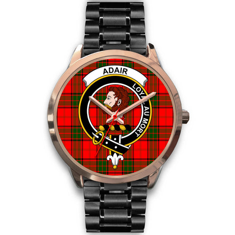 Adair, Rose Gold Metal Mesh Watch,  leather steel watch, tartan watch, tartan watches, clan watch, scotland watch, merry christmas, cyber Monday, halloween, black Friday