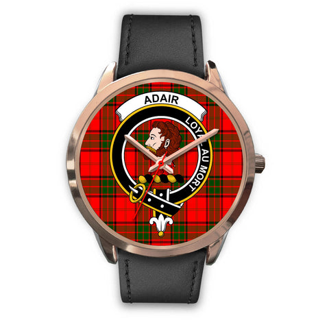 Image of Adair, Black Metal Mesh Watch,  leather steel watch, tartan watch, tartan watches, clan watch, scotland watch, merry christmas, cyber Monday, halloween, black Friday
