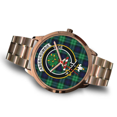 Abercrombie, Brown Leather Watch,  leather steel watch, tartan watch, tartan watches, clan watch, scotland watch, merry christmas, cyber Monday, halloween, black Friday