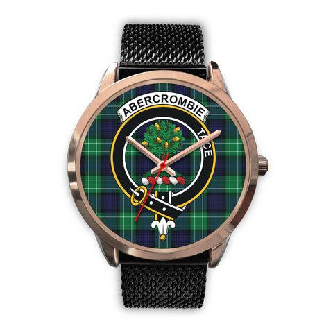 Abercrombie, Silver Metal Link Watch,  leather steel watch, tartan watch, tartan watches, clan watch, scotland watch, merry christmas, cyber Monday, halloween, black Friday
