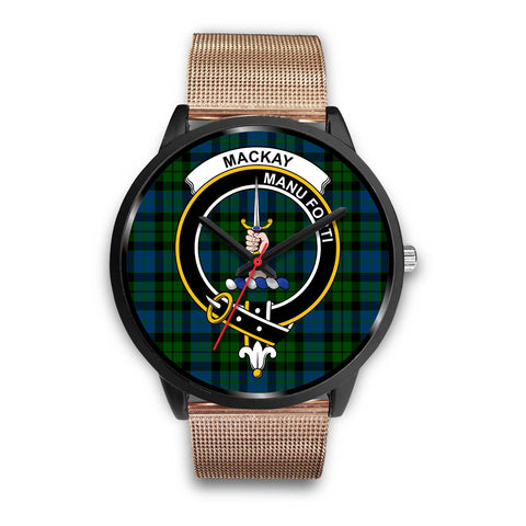 MacKay Modern Clan Badge Tartan Black Watch