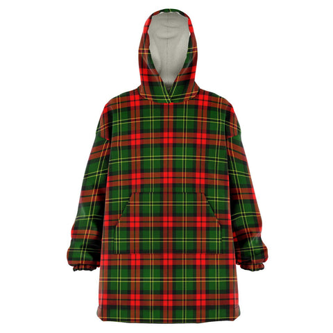 Image of Blackstock Snug Hoodie - Unisex Tartan Plaid Front