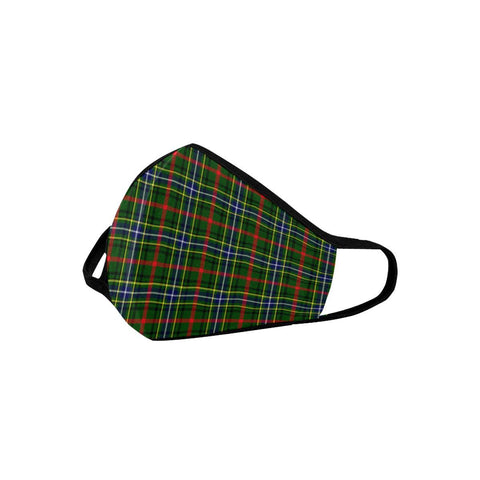 Bisset Tartan Mouth Mask With Filter | scottishclans.co