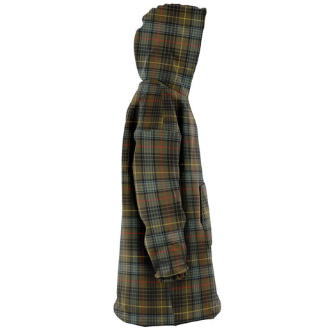 Stewart Hunting Weathered Snug Hoodie - Unisex Tartan Plaid Right