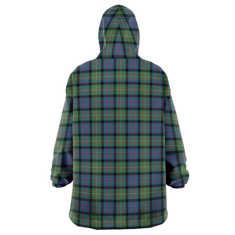 Image of MacDonnell of Glengarry Ancient Snug Hoodie - Unisex Tartan Plaid Back