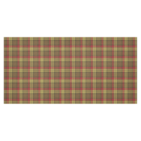 Image of MacMillan Old Weathered Tartan Tablecloth | Home Decor