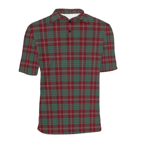 Image of Crawford Modern  Tartan Polo Shirt HJ4
