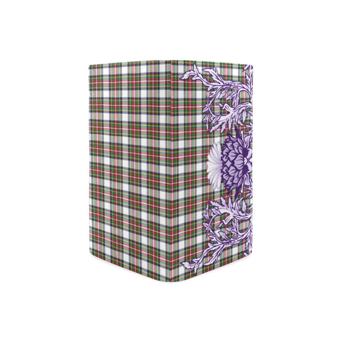 Stewart Dress Modern Tartan Wallet Women's Leather Thistle A91