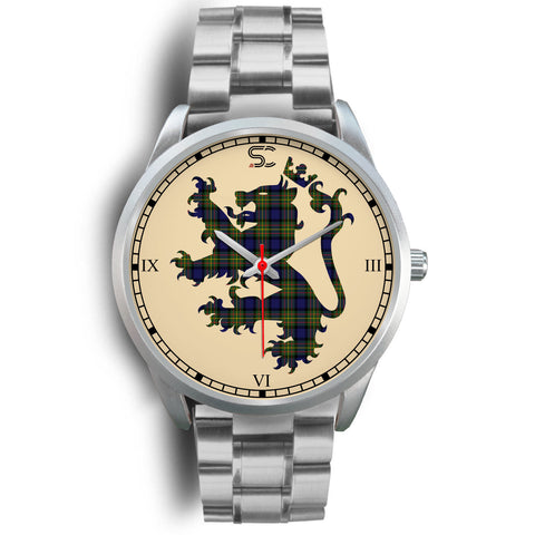 Image of MacLaren Modern Tartan Lion Silver Watch