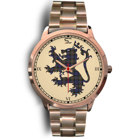 Image of Fletcher of Dunans Tartan Lion Rose Gold Watch