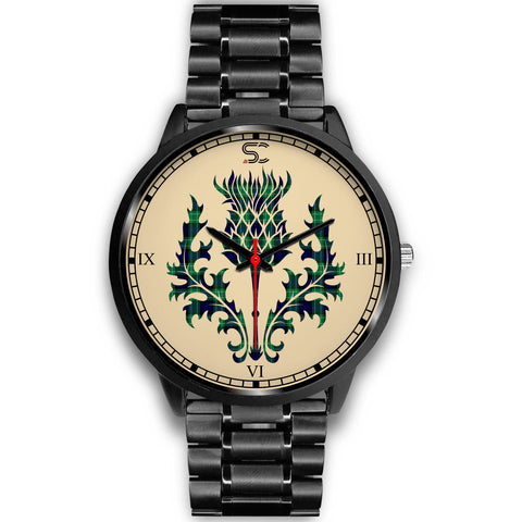 Abercrombie Tartan Thistle Black Watch