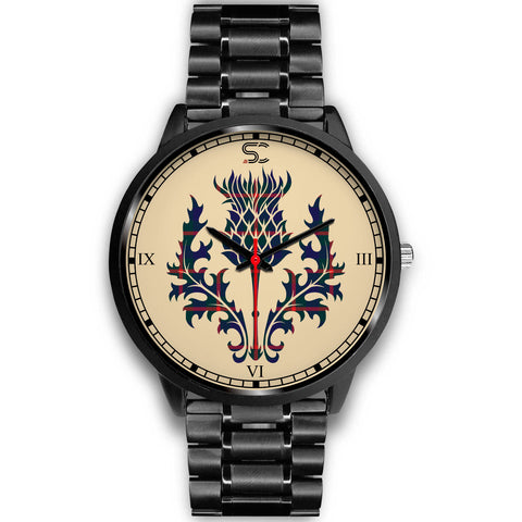 Agnew Modern Tartan Thistle Black Watch