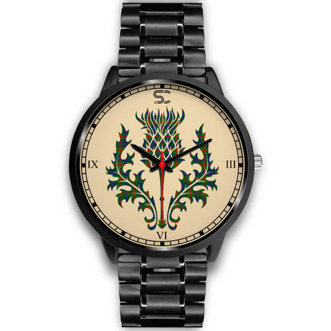 Aiton Tartan Thistle Black Watch