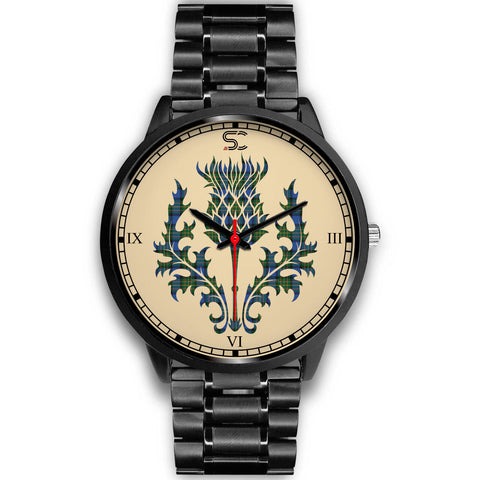 MacLaren Ancient Tartan Thistle Black Watch