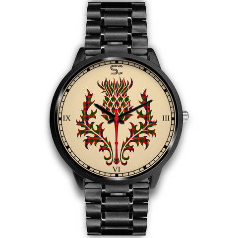 Skene Modern Tartan Thistle Black Watch
