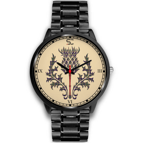 Taylor Weathered Tartan Thistle Black Watch