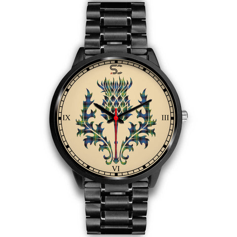 Watson Ancient Tartan Thistle Black Watch