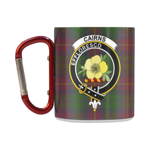 Cairns  Tartan Mug Classic Insulated - Clan Badge K7