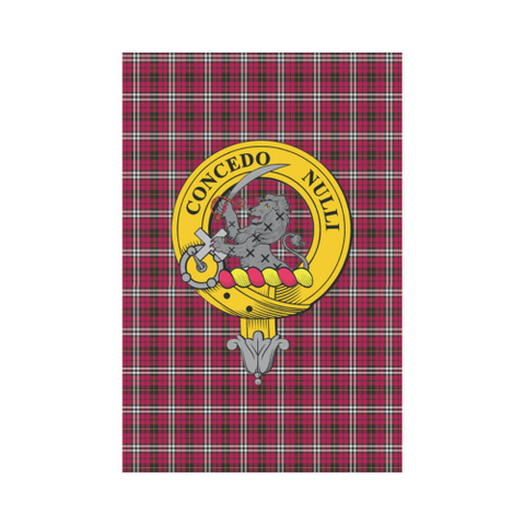 Little (New) Tartan Flag Clan Badge K7