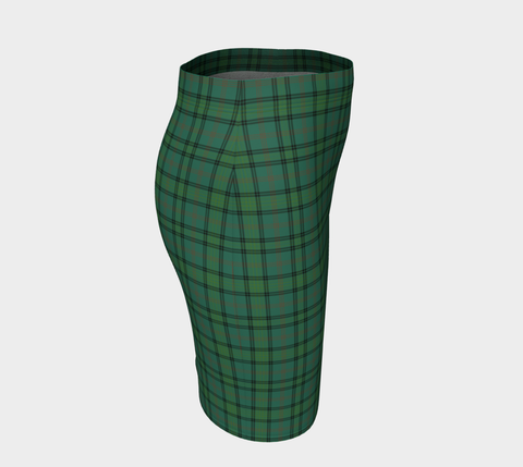 Tartan Fitted Skirt - Ross Hunting Ancient | Special Custom Design