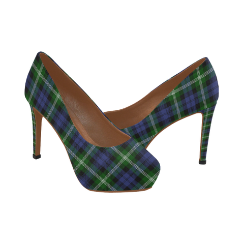 Baillie Modern Plaid Heels