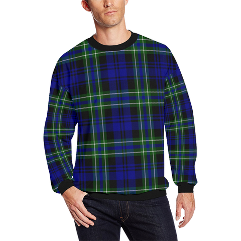 Image of Arbuthnot Modern Tartan Crewneck Sweatshirt TH8