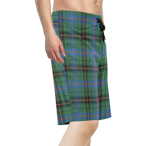 Davidson Ancient Tartan Board Shorts TH8
