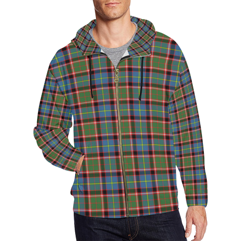 Image of Aikenhead Tartan Zipped Hoodie | Special Custom Products