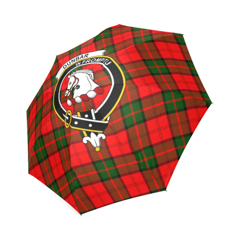 Dunbar Modern Crest Tartan Umbrella TH8