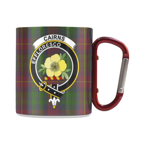 Cairns  Tartan Mug Classic Insulated - Clan Badge | scottishclans.co