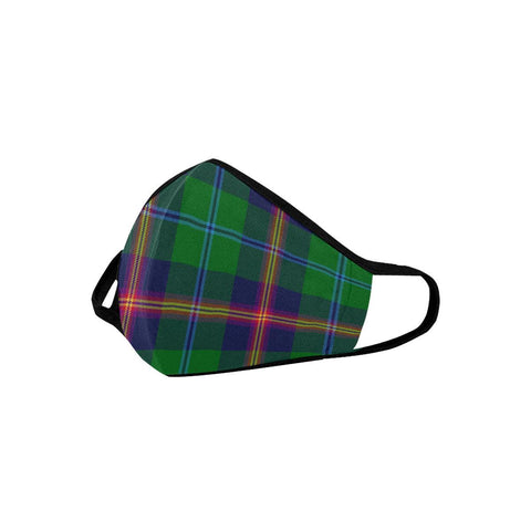 Young Modern Tartan Mouth Mask With Filter | scottishclans.co