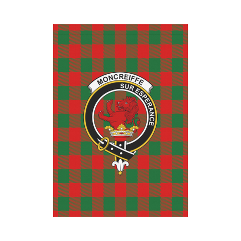 Moncrieffe Tartan Flag Clan Badge | Scottishclans.co