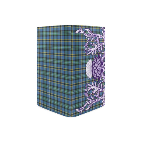 Weir Ancient Tartan Wallet Women's Leather Thistle A91