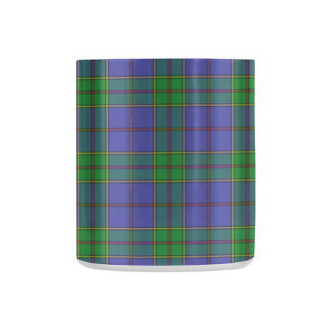 Strachan Tartan Mug Classic Insulated - Clan Badge K7