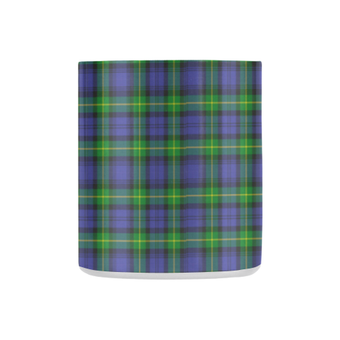 Image of Meldrum Tartan Mug Classic Insulated - Clan Badge K7