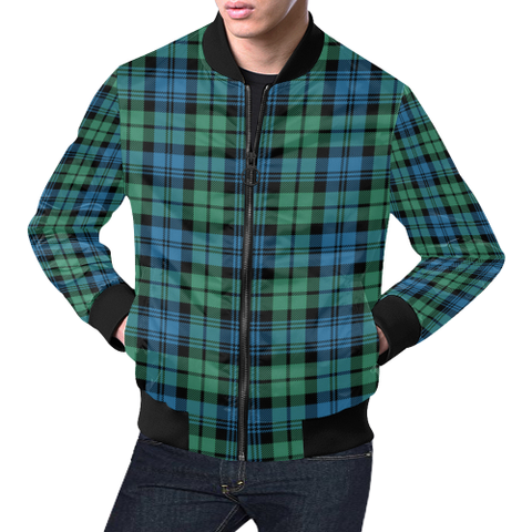 Campbell Ancient 01 Tartan Bomber Jacket | Scottish Jacket | Scotland Clothing