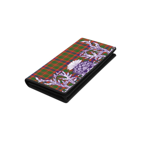 Nithsdale District Tartan Wallet Women's Leather Wallet A91 | Over 500 Tartan