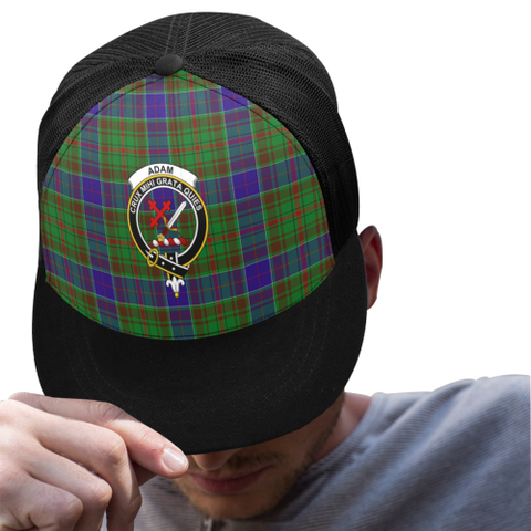 Adam Tartan Trucker Hat All Over